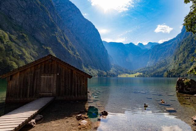 Urlaub in Bayern: Berchtesgadener Alpen und München
